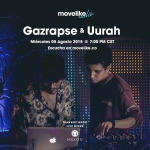 MOVELIKE Radio Obispado 03: Gazrapse & Uurah cover