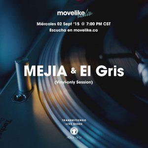 MOVELIKE Radio Obispado 05: MEJIA & El Gris cover