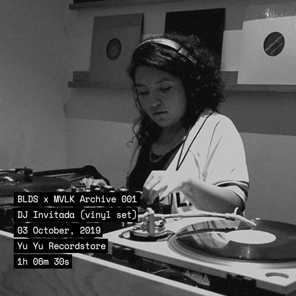 BLDS X MVLK 001: DJ Invitada (vinil set) artwork