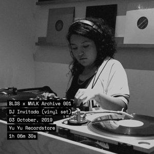 BLDS X MVLK 001: DJ Invitada (vinil set) cover