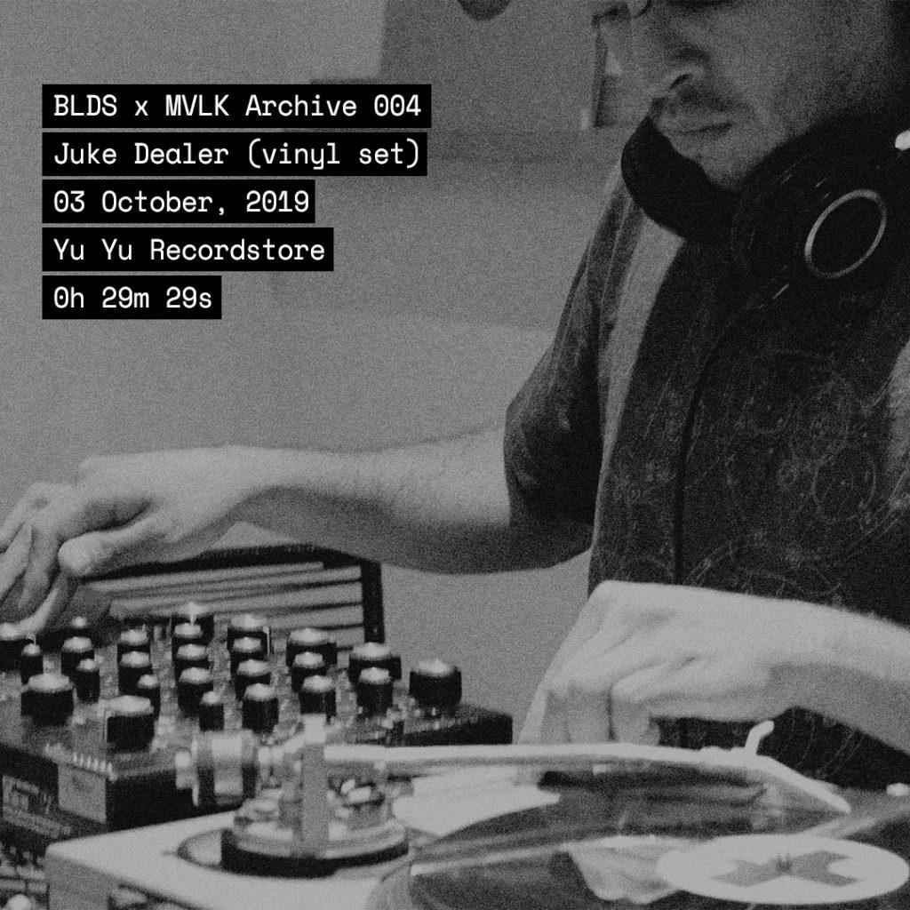 BLDS X MVLK 004: Juke Dealer (vinil set) artwork