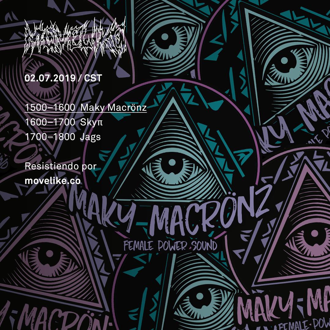 Maky Macrönz [07/02/2019] artwork