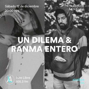 Un Dilema & Ranma Entero cover