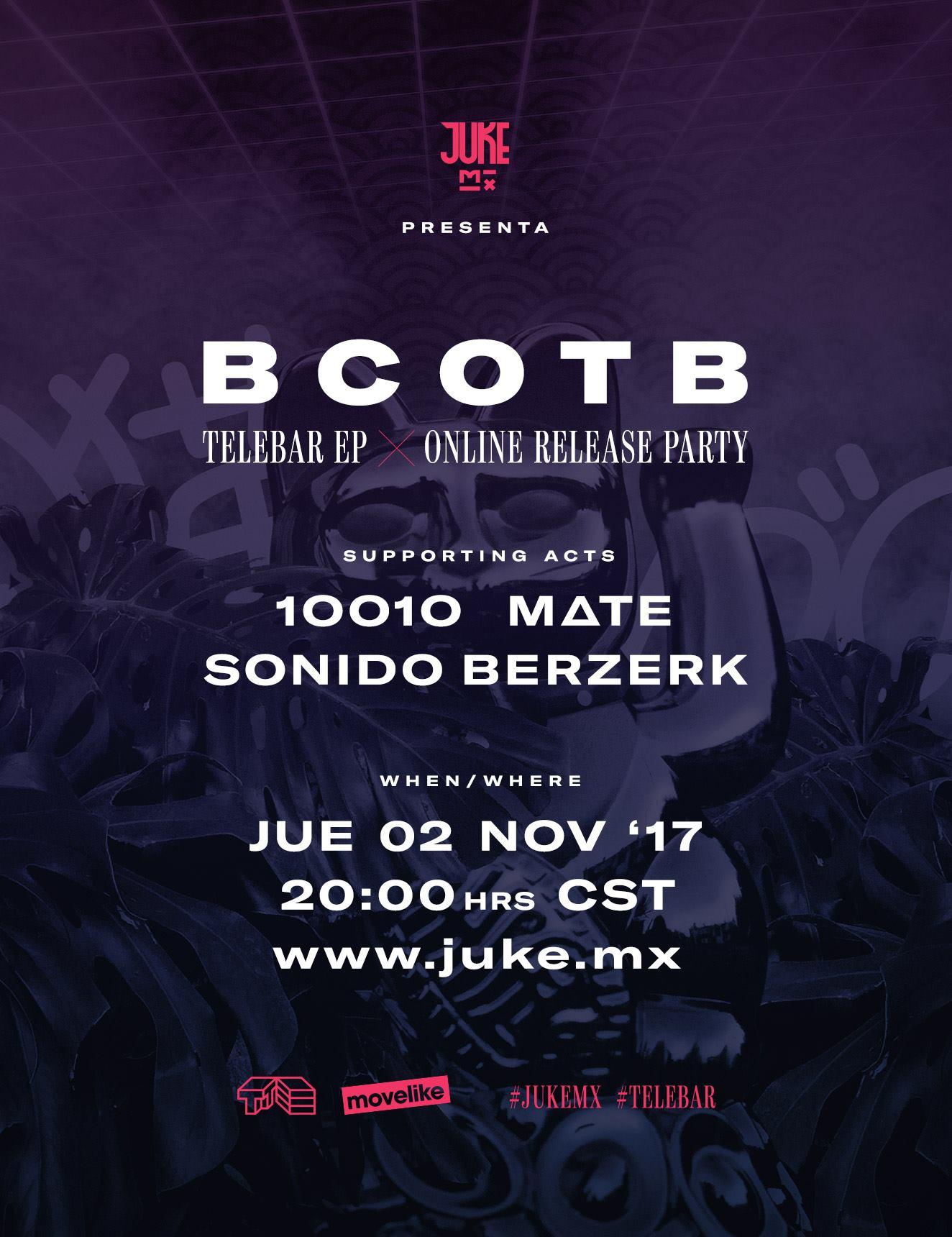 Telebar Release Party artwork