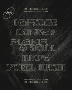 dBridge @ CDMX Poster
