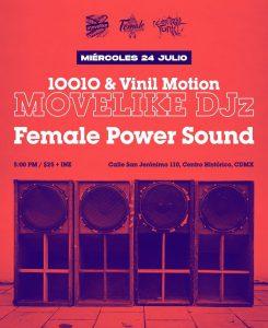Female Power Sound x MOVELIKE DJz Poster