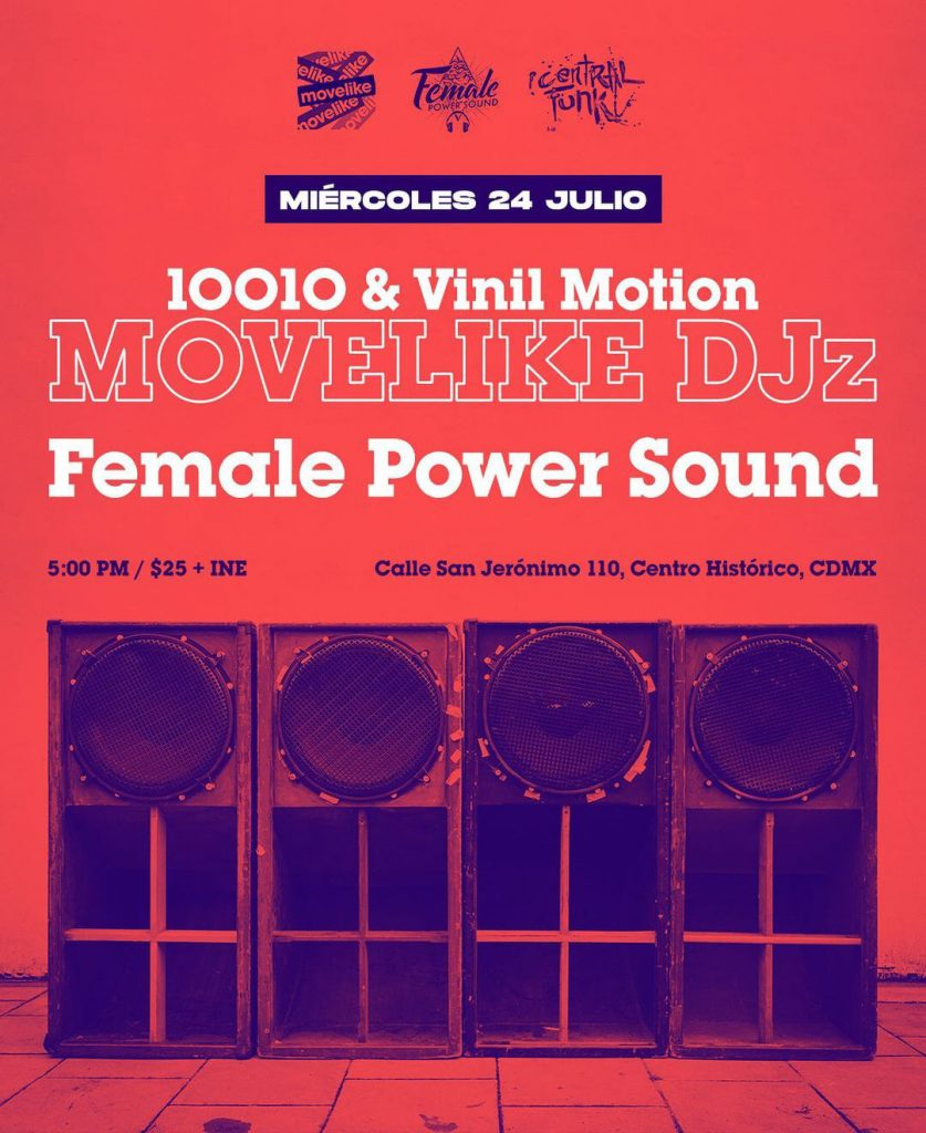 Female Power Sound x MOVELIKE DJz artwork