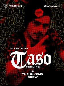 Footworkz 03: Taso Poster