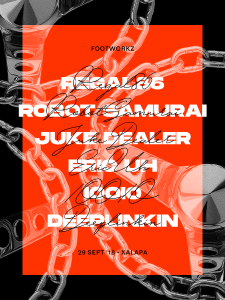 Footworkz 08 Poster