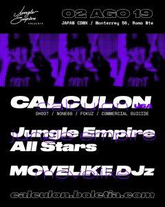 Calculon @ CDMX Poster
