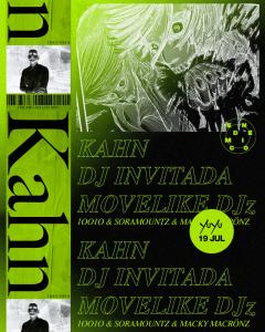 Kahn @ CDMX Poster