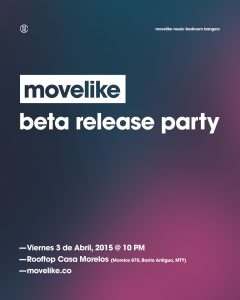 Beta Release Party Poster