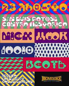 Nick Hook @ SLP Poster