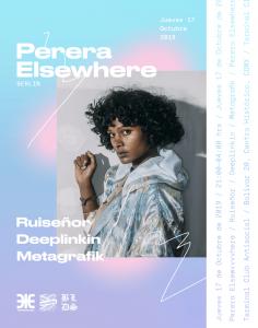 Perera Elsewhere @ Termi Poster