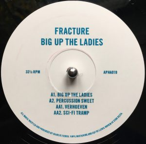 Big Up The Ladies EP cover