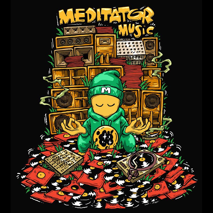 Meditator Music Profile Pic